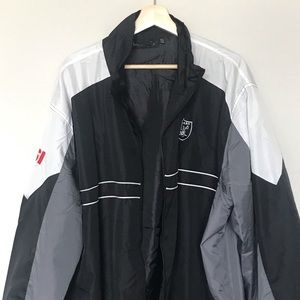 Other - Oakland Raiders Windbreaker Jacket | XXL | Men's